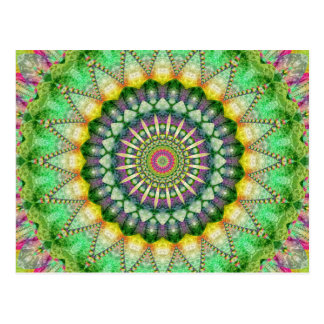 Mandala Patchwork no.1 created by Tutti Postcard
