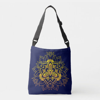 Mandala pattern crossbody bag
