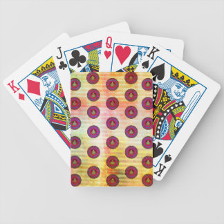 MANDALA PATTERN POKER DECK
