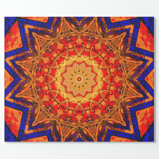 Mandala Pattern Wrapping Paper