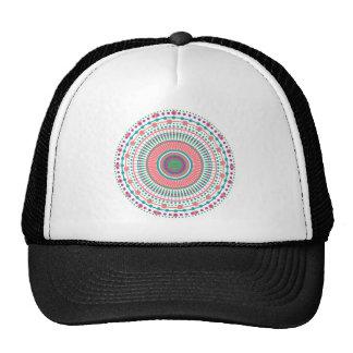 MANDALA PEACH MINT TRUCKER HAT