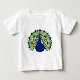 Mandala Peacock Baby T-Shirt