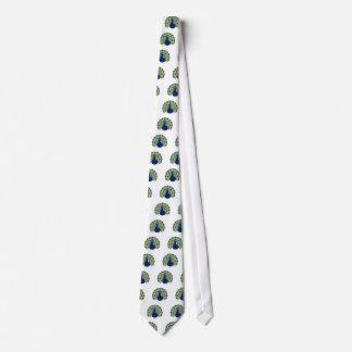 Mandala Peacock Tie