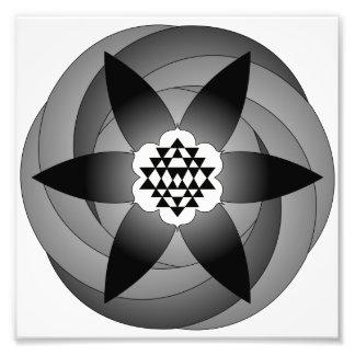 Mandala Photo Print