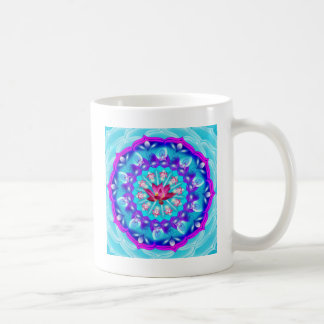 Mandala Pink Lotus Coffee Mug