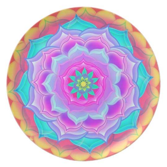 Mandala Plate - Roseate