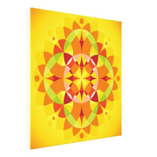 Mandala Prana Canvas Print