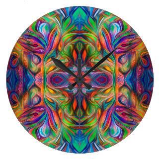Mandala Primal 04 Wall Clock