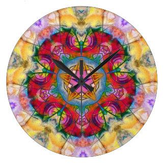 Mandala Primal 16 Wall Clock