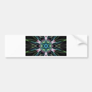 Mandala psicodelica.png bumper sticker