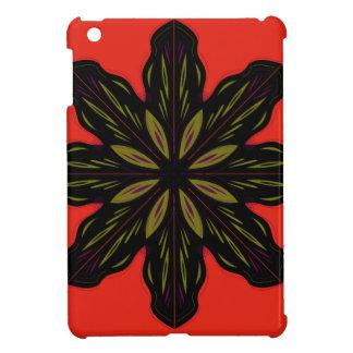 Mandala RED BLACK iPad Mini Cases