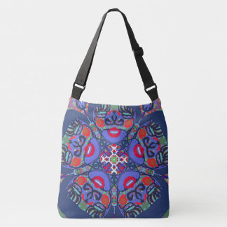 "Mandala ""Red Moon"" Tote Bag  by MAR"