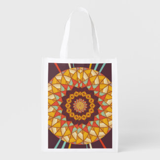 Mandala Reusable Grocery Bag