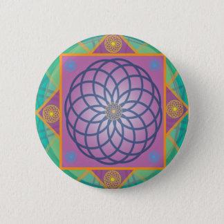 Mandala-Round 2 Inch Round Button