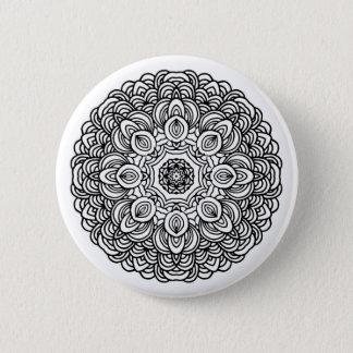 Mandala Round Button
