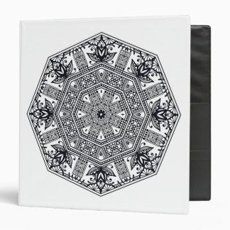 Mandala Round Ornament Binders