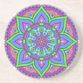 Mandala Sandstone Coaster