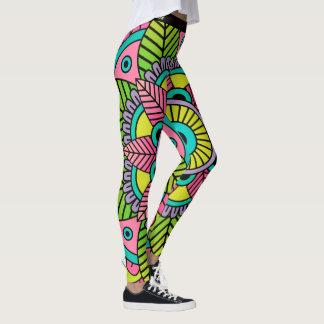 Mandala Satu Leggings