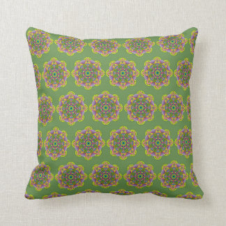 Mandala Satu Throw Pillow