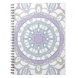 Mandala spiral photo note book