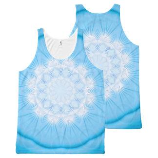 Mandala Star (blue) All-Over-Print Tank Top