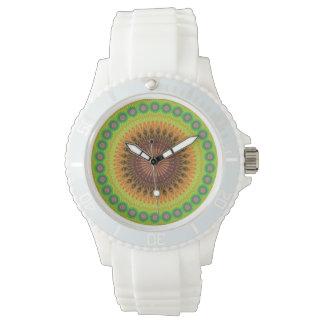 Mandala star circle wrist watches