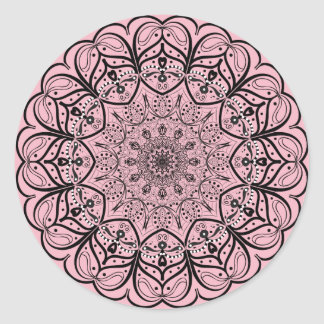 Mandala Sticker - Choose your background color