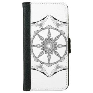 Mandala Style iPhone 6 Wallet Case