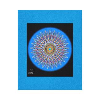 """""""Mandala Sun """" Canvas Print"""