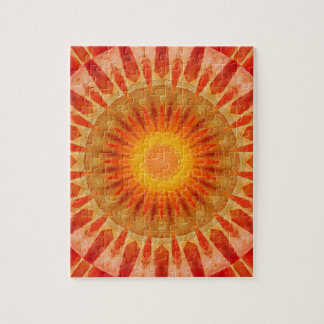 Mandala sunset jigsaw puzzle
