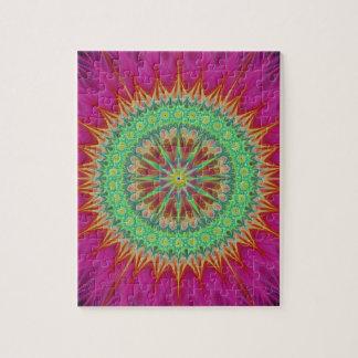 Mandala symbol jigsaw puzzle