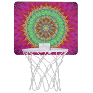 Mandala symbol mini basketball hoop