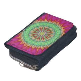 Mandala symbol wallet