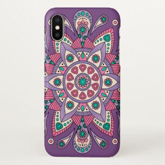 Mandala Tiga Original Purple iPhone X Case