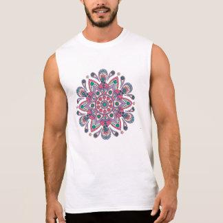 Mandala Tiga Original Purple Sleeveless Shirt