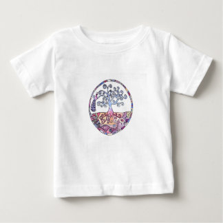 Mandala - Tree of Life in Paradise Baby T-Shirt