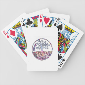 Mandala - Tree of Life in Paradise Bicycle Playing Cards