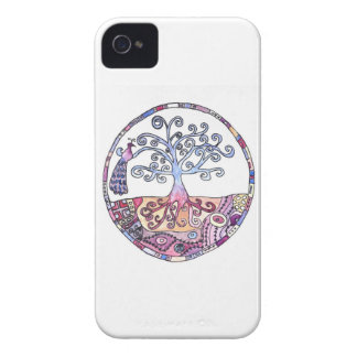 Mandala - Tree of Life in Paradise Case-Mate iPhone 4 Cases