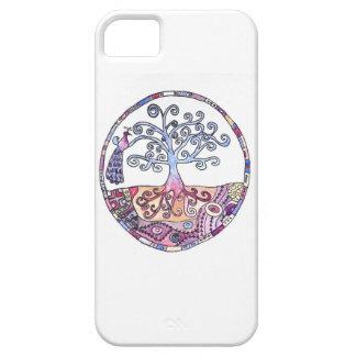 Mandala - Tree of Life in Paradise iPhone 5 Cases