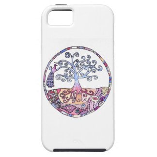 Mandala - Tree of Life in Paradise iPhone 5 Cover
