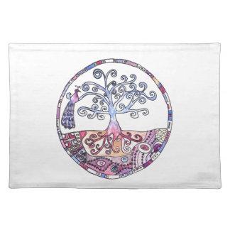 Mandala - Tree of Life in Paradise Placemat