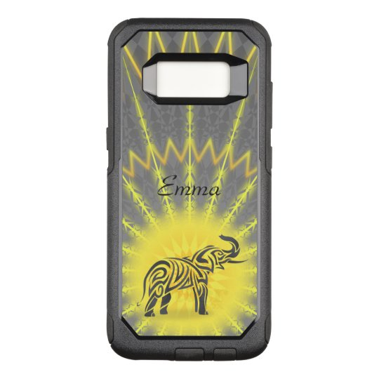 Mandala Tribal Elephant OtterBox Commuter Samsung Galaxy S8 Case