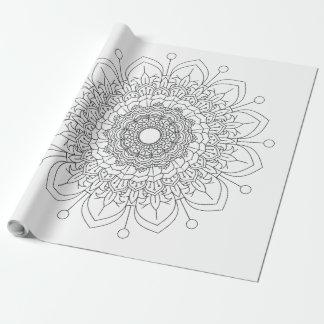 Mandala Vintage decorative elements Oriental patte Wrapping Paper