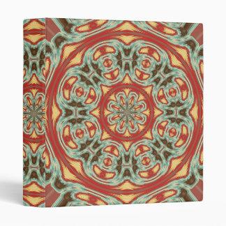 Mandala Vinyl Binder