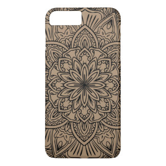 Mandala with dark color iPhone 8 plus/7 plus case