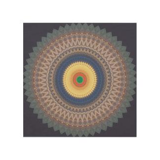 Mandala Wooden Wall Art Wood Canvases