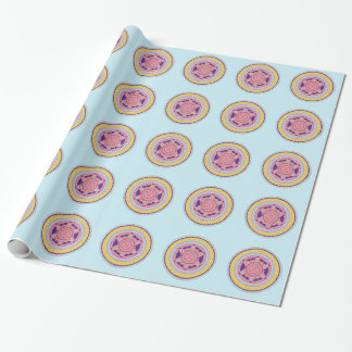 Mandala wrapping paper