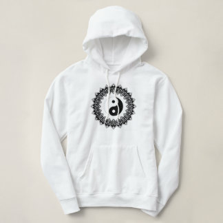 Mandala Yin Yang Women's Hoodie