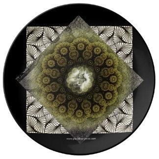 Mandalanimaux - Rabbit Plate