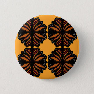 Mandalas Ethno hand painted 2 Inch Round Button